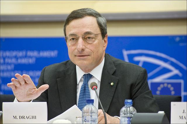 draghi bce euro